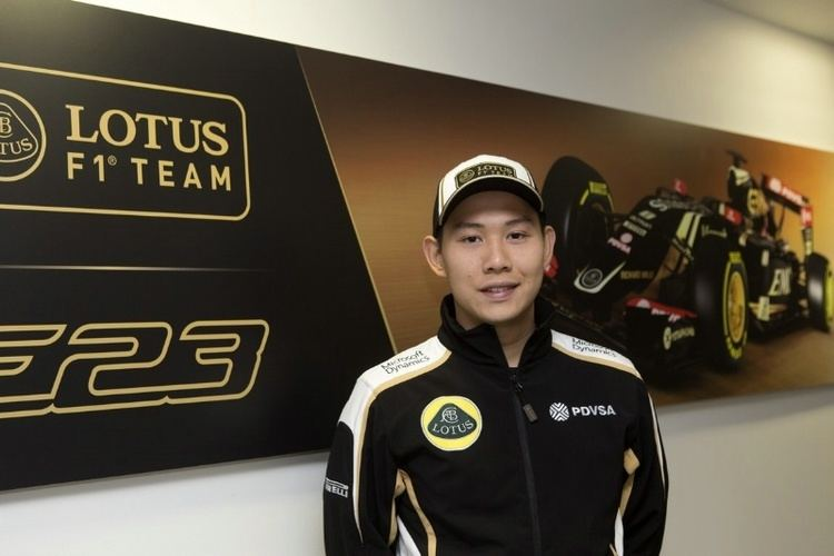 Adderly Fong F1 News Adderly Fong added to Lotus F1 development roster