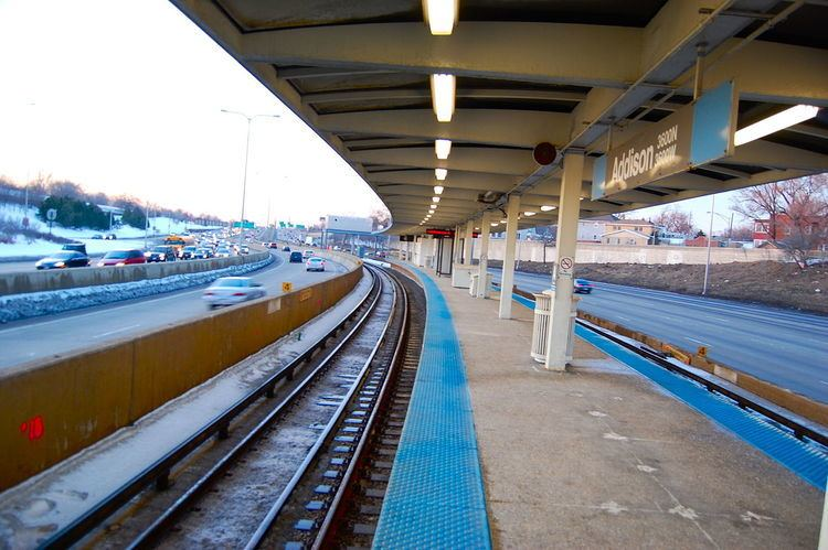 Addison station (CTA Blue Line)
