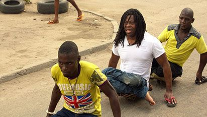 Ade Adepitan Ade Adepitan interview and video clips Channel 4 Info Press