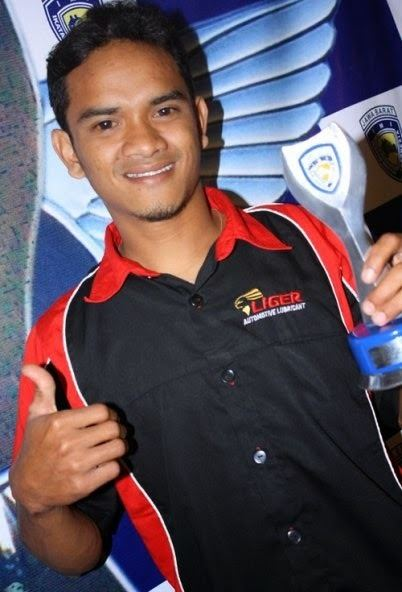 Ade Chandra toyap racing school Profil Ade Chandra