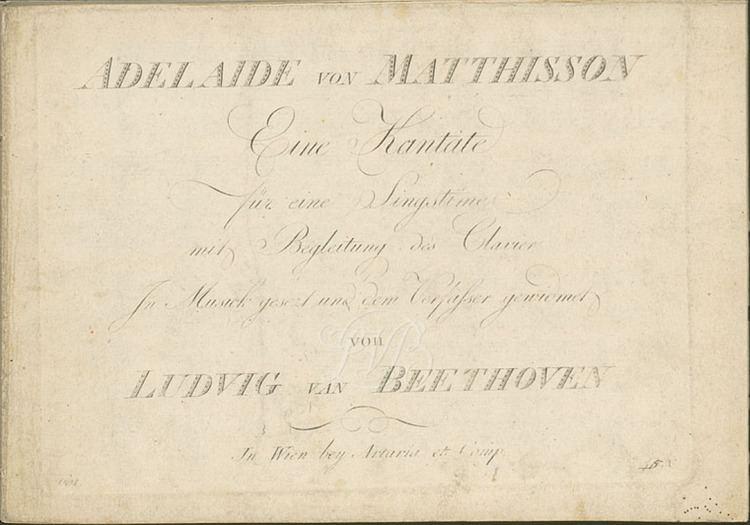 Adelaide (Beethoven)