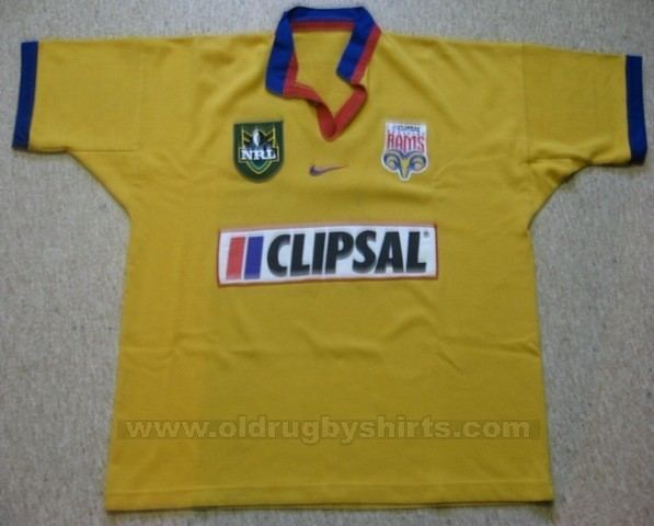 Adelaide Rams Old Adelaide Rams rugby shirts and jerseys