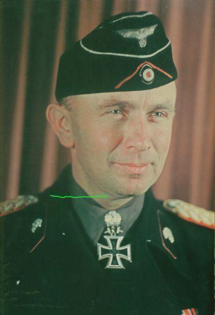 Adelbert Schulz Third Reich Color Pictures Generalmajor Adelbert Schulz