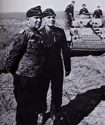 Adelbert Schulz German Armored Forces amp Vehicles Major General ADELBERT