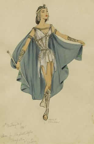 Adele Balkan An Adele Balkan costume sketch for Elizabeth Taylor in Cleopatra