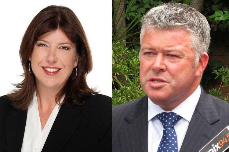 Adele Carles Troy Buswell and Adele Carles ABC News Australian