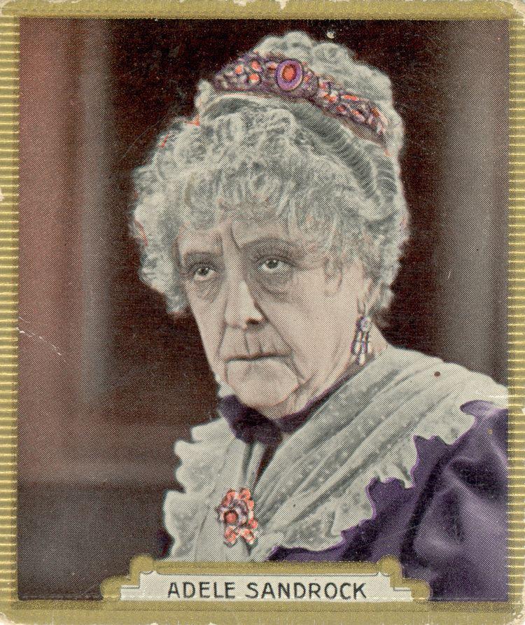 Adele Sandrock Adele Sandrock