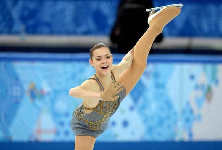 Adelina Sotnikova Sotnikova stuns Kim to win Olympic gold in Sochi The