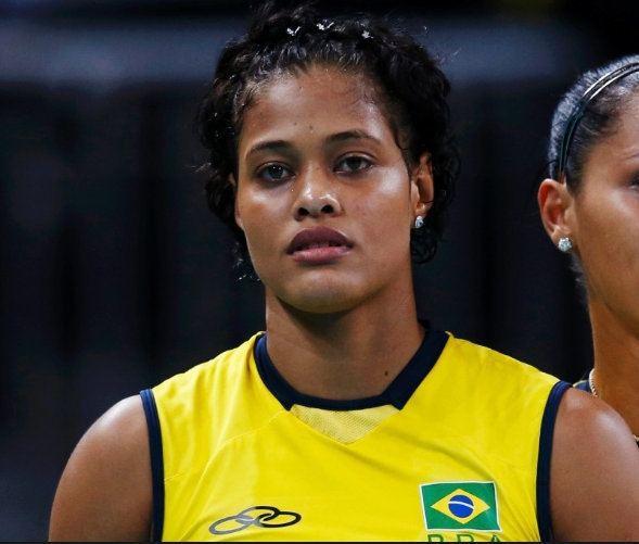 Adenízia da Silva Volleyball player Adenzia Ferreira da Silva Black Women of Brazil
