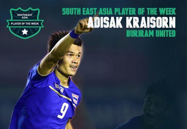 Adisak Kraisorn Goal Southeast Asia Player of the Week Adisak Kraisorn