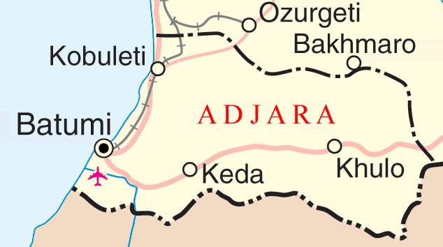 Adjara in the past, History of Adjara