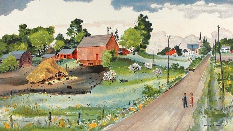 Adolf Dehn Minnesotaquot by Adolf Dehn part of the School Prints series