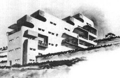 Adolf Rading KIT IKB Projekte Architekten im Exil 193345