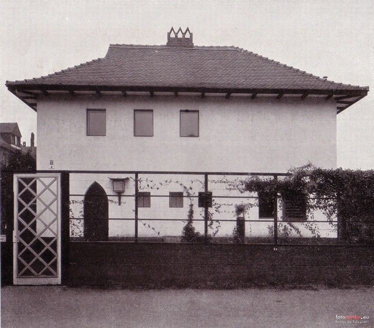 Adolf Rading Sochaczewska 4 Dom wasny architekta Adolfa Radinga