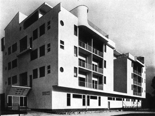 Adolf Rading Polish modernist Siedlung WUWA Exhibition house 7
