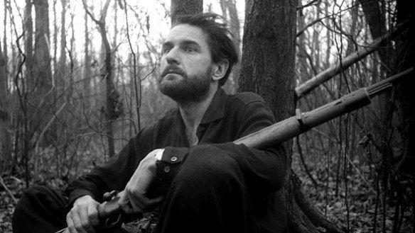 Adolfas Mekas Screening Guns of the Trees Jonas Mekas 1961 LOST