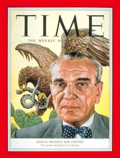 Adolfo Ruiz Cortines TIME Magazine Cover Adolfo Ruiz Cortines Sep 14 1953