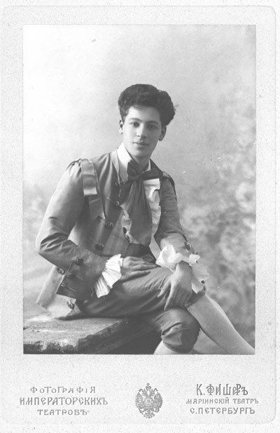 Adolph Bolm Adolph Bolm as Student