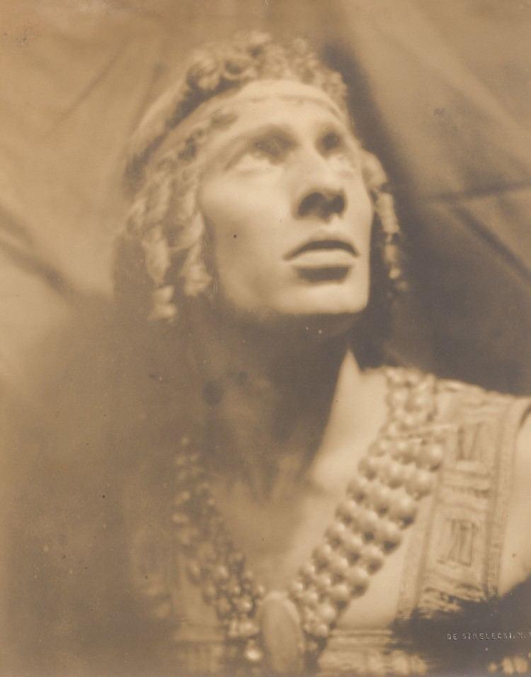 Adolph Bolm Photograph of Tamara Karsavina Vaslav Nijinsky and