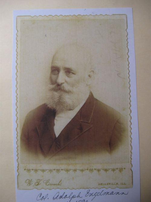 Adolph Englemann Col Adolph Englemann Colonel Friedrich K Hecker Camp 443