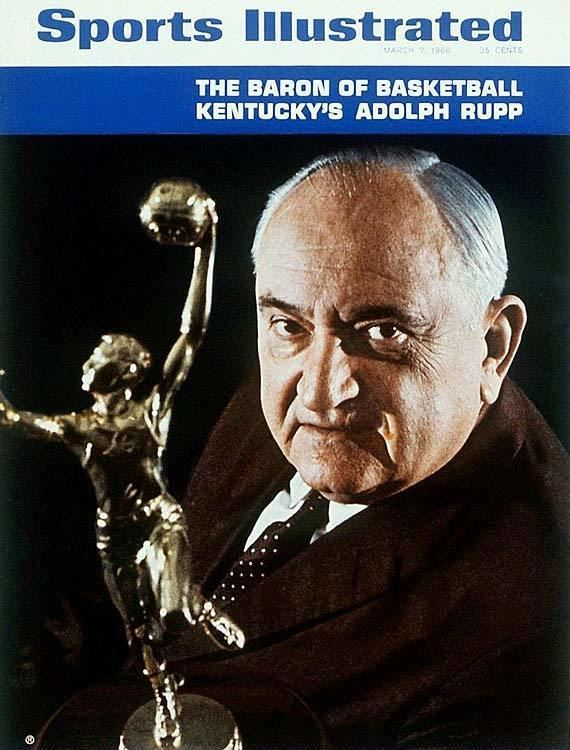 Adolph Rupp Billy Reed The rest of the story is mostly overlooked