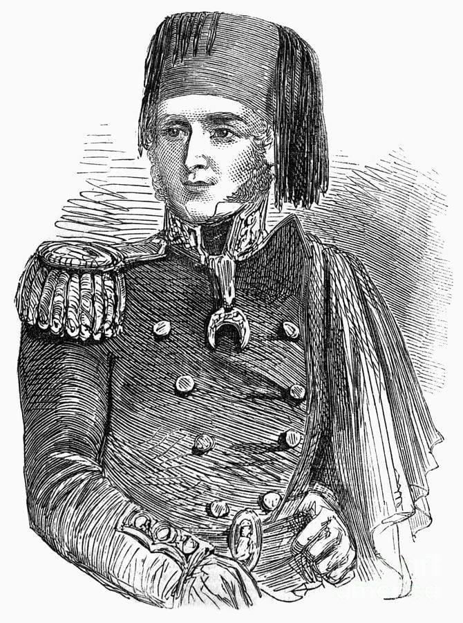 Adolphus Slade Sir Adolphus Slade Photograph by Granger
