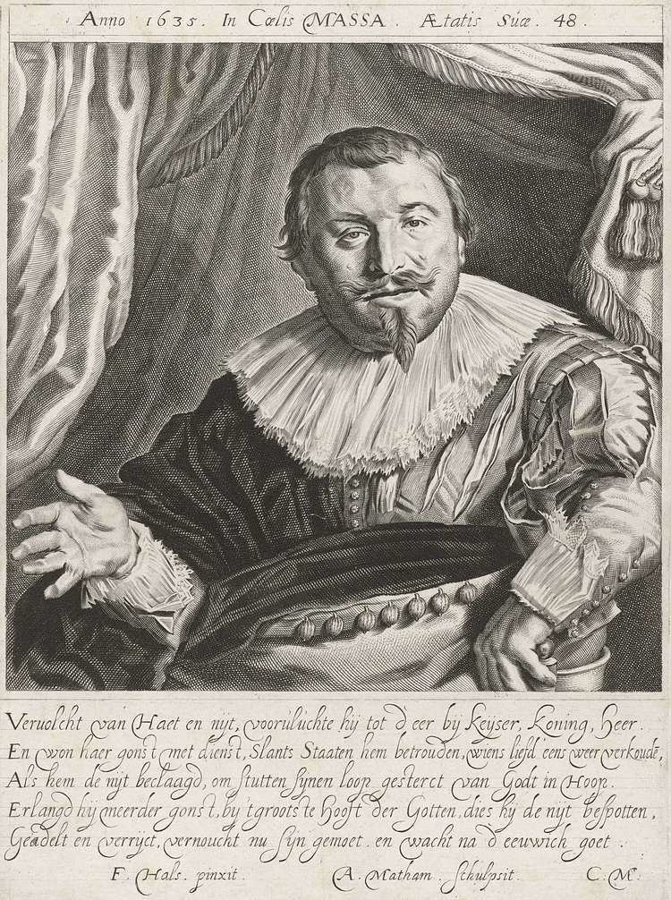 Adriaen Matham FileAdriaen Matham after Frans Hals engraving of Isaac Massajpg