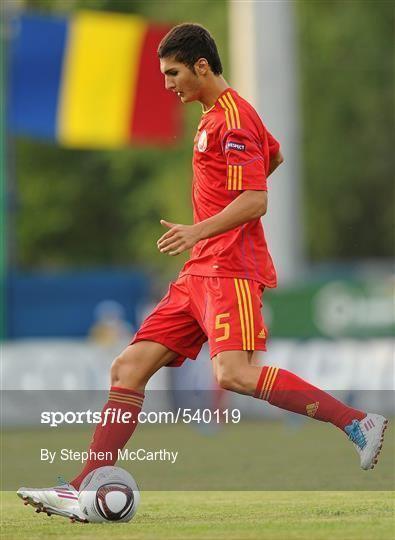 Adrian Avramia Sportsfile Republic of Ireland v Romania 201011 UEFA