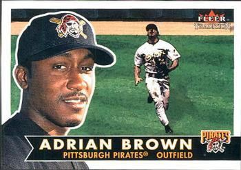 Adrian Brown (baseball) Adrian Brown Gallery The Trading Card Database