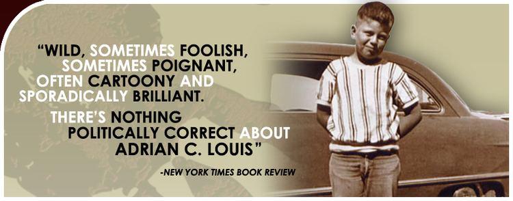 Adrian C. Louis httpsadrianclouiscomimagesHomePicjpg