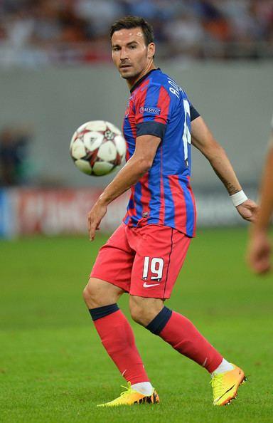 Adrian Cristea Adrian Cristea in FC Steaua Bucuresti v Legia Warszawa Bucharest