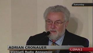 Adrian Cronauer Adrian Cronauer CSPANorg