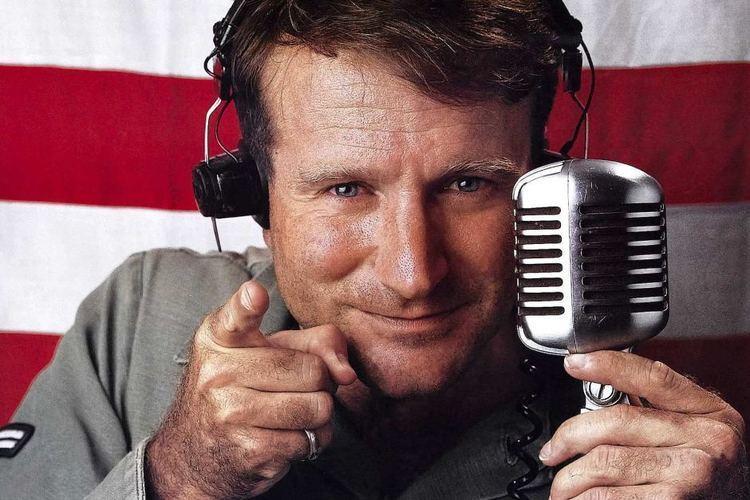 Adrian Cronauer Robin Williams as Adrian Cronauer in Good Morning Vietnam