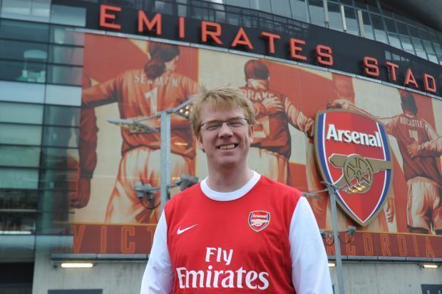 Adrian Durham Anorak Adrian Durham39s Devotion To Arsenal Sets The