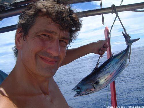Adrian Flanagan yachtpalscomfilesnewsadrianfishjpg