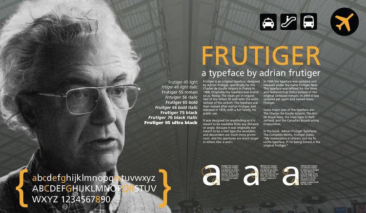 Adrian Frutiger adrian frutiger atypemaniak