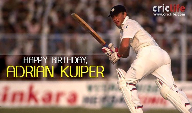Adrian Kuiper 11 facts about the South African allrounder