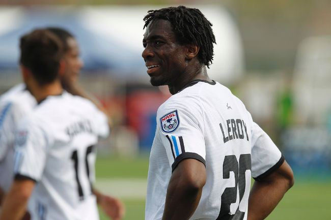 Adrian LeRoy Professional soccer player Adrian LeRoy returns to where is all
