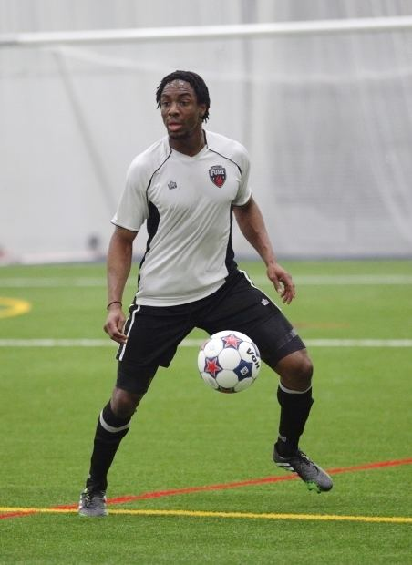Adrian LeRoy Ottawa Fury FCs Adrian LeRoy of Ottawa dribbles the ball during