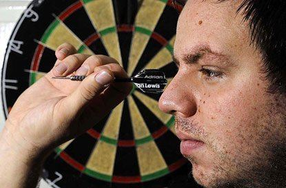 Adrian Lewis Phil Taylors fearless son Adrian Lewis has him in his sights