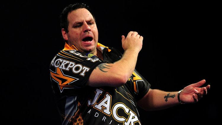 Adrian Lewis Adrian Lewis hits ninedarter at Premier League Darts in Belfast