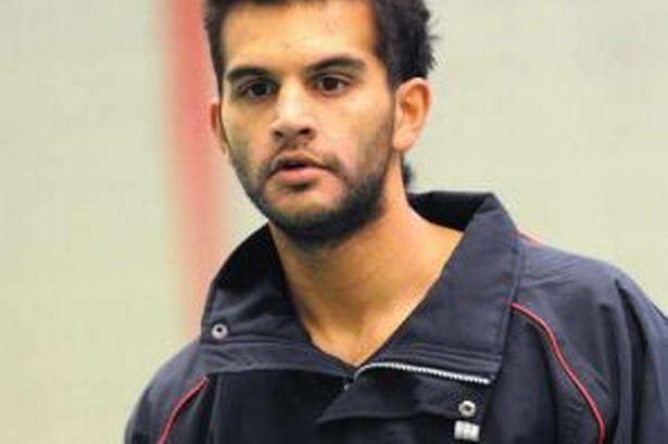 Adrian Shankar Textbook cricket for Shankar Manchester Evening News