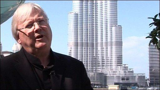 Adrian Smith (architect) BBC News Architect describes world39s tallest building