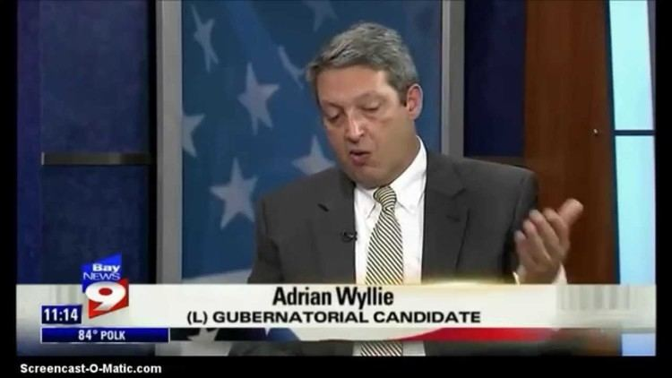 Adrian Wyllie Adrian Wyllie Libertarian Candidate for Governor of Florida on Bay