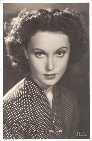 Adriana Benetti Adriana Benetti 12121919 2422016 italian actress RIP