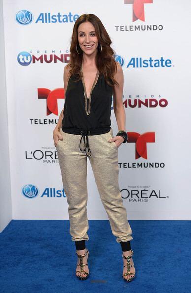Adriana Lavat Adriana Lavat Pictures Arrivals at Telemundo39s Premios