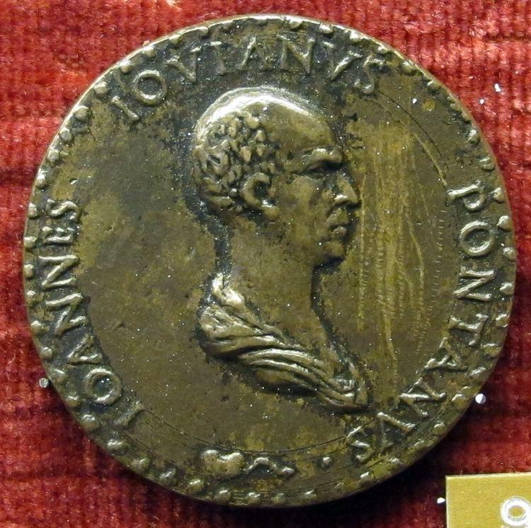 Adriano Fiorentino FileAdriano fiorentino medaglia di giovanni gioviano pontanoJPG