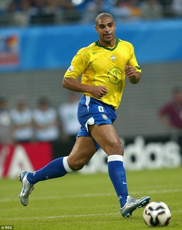 Adriano (footballer, born 1982) Brazilian footballer Adriano charged with drug links Daily Mail Online