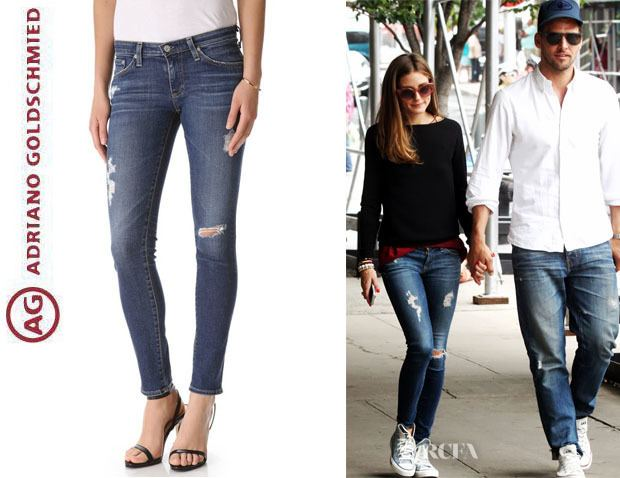 Adriano Goldschmied Olivia Palermo39s AG Adriano Goldschmied Legging Ankle
