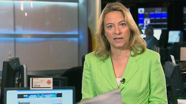 Adrien Arsenault CBC News The National Adrienne Arsenault
